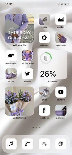 App Iphone, Iphone Wallpaper Ios, Iphone Icon, Iphone Hacks, Iphone Home Screen Layout, Iphone App Layout, Cute Home Screen Wallpaper, White Wallpaper, Iphone Design