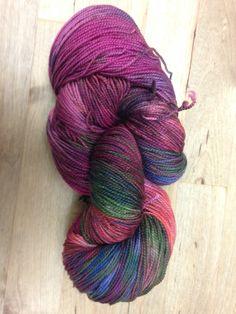 2 ply sock yarn November 2014 - OOAK skein