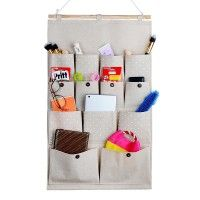 In a tiny house you are always looking for ingenious ways to store your small items. An Over-the-door-pocket Organizer might be the answer for your unique tiny living situation.