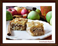 Kriszta konyhája- Sütni,főzni bárki tud!: Almás-mazsolás pite ( paleo )