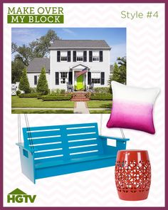 Repin to vote for Make Over My Block Design Style 4 http://www.hgtv.com/make-over-my-block/package/index.html?soc=pinterest