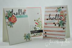 born2stamp STAMPIN' UP! Kartenset - DSP Geburtstagsstrauss - SAB - Sale-a-bration - Hallo - So viele Jahre