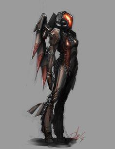 Valkyrie Armor by ~DMBoyleDesign on deviantART