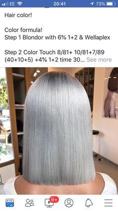 Hair Color Guide, Hair Color Formulas, Hair Color Swatches, Hair Toner, Hair Upstyles, Short Layered Haircuts, Hair Color Techniques, Red Hair Color, Brunette Hair