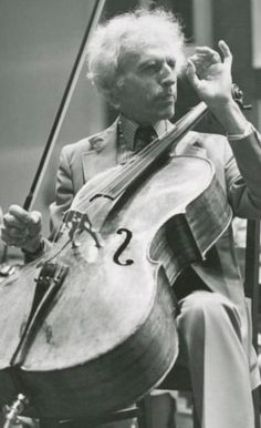 Paul Tortelier French cellist and composer. Cello Music, Art Music, Music Artists, Best Violinist, Violin Family, Classical Music Composers, Famous Musicians, Music Images, Music Theory