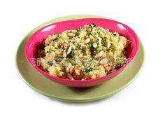 Cuscús con verduras y piñones - Diabetes