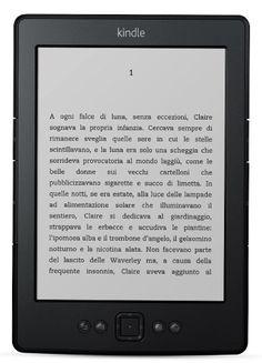 Kindle con schermo a inchiostro elettronico