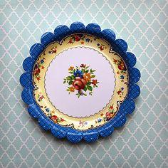 Agatha Christie Paper Plates