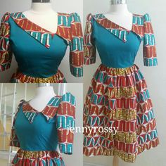African print dress Ankara gown