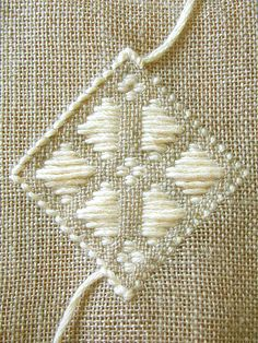 kogin embroidery (back)