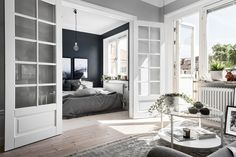 Small Stockholm apartment in grey-tones Follow Gravity Home: Blog - Instagram - Pinterest - Bloglovin - Facebook