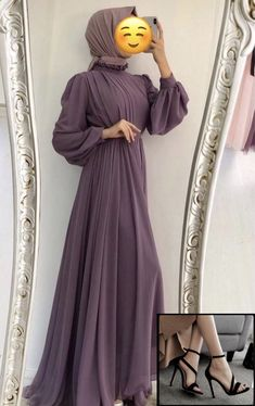 Modest Fashion Hijab, Muslim Fashion, Fashion Dresses, Dress Muslim Modern, Muslim Dress, Kaftan Designs, Hijab Evening Dress, Fancy Dress Design, Dress Pesta