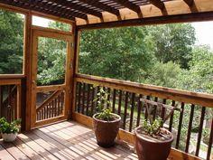 The Cat Carpenter Treetop Deck Catio