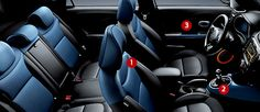 Kia Soul Interior Blue Package