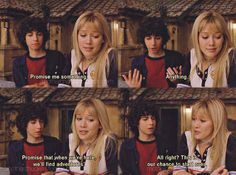 They made that insanely romantic + cute oath together. | Why Lizzie And Gordo Were The Most Perfect Couple That Never Actually Existed