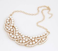 Pearl Pedals Fashion Necklace | LilyFair Jewelry, $11.99!