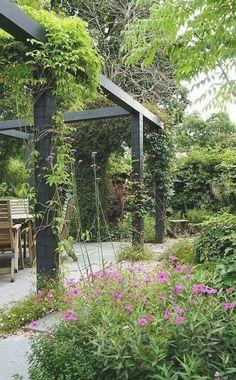 Small Pergola, Cheap Pergola, Pergola Patio, Pergola Plans, Backyard Landscaping, Pergola Kits, Pergola Ideas, Patio Ideas, Country Landscaping