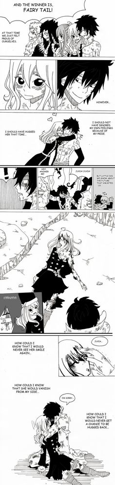 Crap comic is crap. I think my inner pervert is showing. For Gruvia Week. Reblog on Tumblr