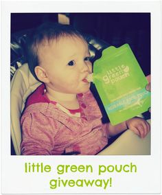 Little Green Pouch #giveaway