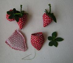 Erdbeeren für den Kaufladen oder als Deko