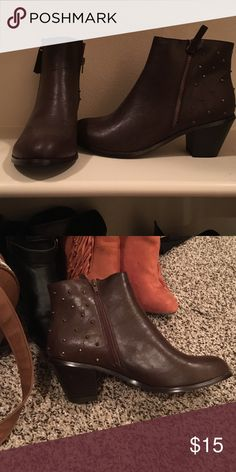 Brown justfab boot Brown justfab boot Shoes Ankle Boots & Booties