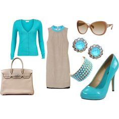 Tiffany & Taupe, created by karen-madlon