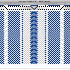 Weaving Designs, Weaving Projects, Weaving Patterns, Dish Towels, Tea Towels, Loom Weaving, Hand Weaving, Willow Weaving, Color Psychology
