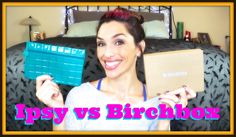 Birchbox vs Ipsy October 2014 unboxing, first impression, and review