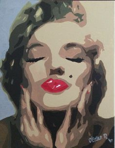#marilynmonroe #popart #pinup