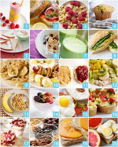 20 healthy breakfasts