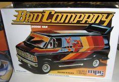 MPC Bad Company Dodge Van  box art