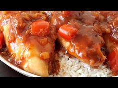 5-Ingredient Slow Cooker Hawaiian Chicken – 12 Tomatoes