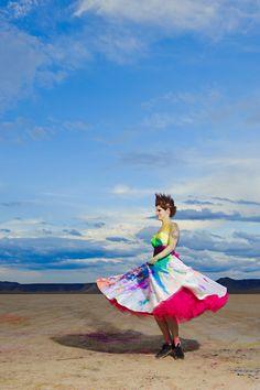 K8T trashing Grace by Lizzie Jayne Designs, 50s wedding dress, trash the dress