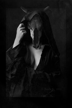 Unholy by ~D-S-InfernalFrost The Crow, Dark Art Photography, Surrealism Photography, The Ancient Magus, Satanic Art, Creepy Pictures, Vampire Pictures, Occult Art, Arte Horror