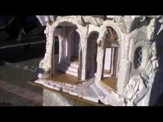 presepista:foto e video su come creare la roccia al presepe - YouTube