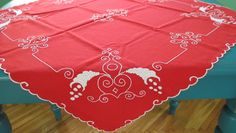 Vintage hand embroidered tablecloth/embroidered tablecloth/handmade tablecloth/Hungarian embroidery and centerpiece pieces) Embroidery Hoop Decor, Etsy Embroidery, Towel Embroidery, Embroidery Flowers Pattern, Embroidery Works, Embroidery Patterns Free, Shirt Embroidery, Embroidery Designs, Diy Embroidery For Beginners