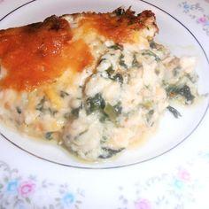 Bridgitte's Crab & Spinach Au Gratin