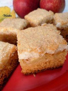 Süss Vanilinnel!: Mézes almás sütemény kókuszhabbal