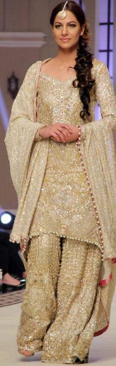#FarazManan Bridal Collection at Telenor Bridal Couture Week 2014 #bridalcoutureweek2014 #bridaldresses #weddingdresses #bridalcollections