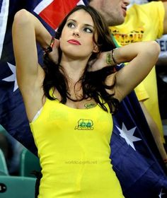 Australian Girl @ World Cup 2014