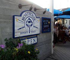 EAT/DRINK: Boathouse at Hendry's Beach | 2981 Cliff Drive, Santa Barbara, CA 93109