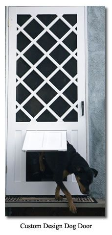 No Cutting Into Your House For The Doggie Door This