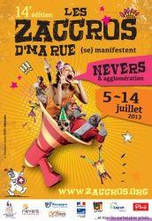 14ème édititon Les Zaccros d'Ma Rue, Nevers, Bourgogne