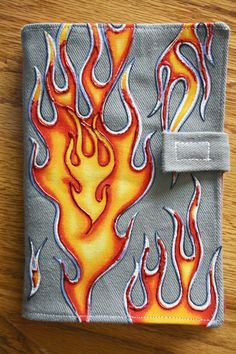 Indygo Junction -  Flame Denim Kindle Case