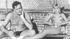 Beverly's talk to Errol Flynn on wearing deodorant, excerpt from The Big Love, by Mrs. Florence Aadland (as told to Tedd Thomey) Hollywood Glamour, Classic Hollywood, Old Hollywood, Hollywood Pictures, Hollywood Sign, Sean Flynn, California Pools, Kevin Kline, Lauren Phillips