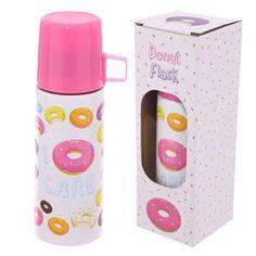 Funky 350ml Flask - Donut Design Price: 14.95 GBP