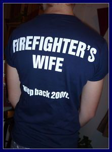 CUTE! Firefighters Wife tshirts $19.99....hopefully I can wear in the near future!