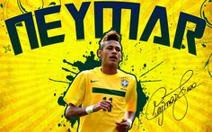 Neymar Brazil HD Wallpapers 2
