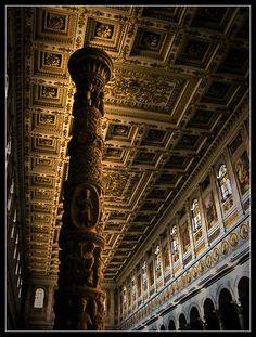 Basilica di San Paolo fuori le mura by Fabio de Luca, via Flickr #InvasioniDigitali 25 aprile By: @RealMofPain