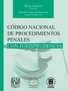 LIBROS EN DERECHO: CODIGO NACIONAL DE PROCEDIMIENTOS PENALES CON JURI...
